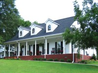 Country House Plans with Porches One Story Country House ...