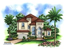 One Story Mediterranean House Plans