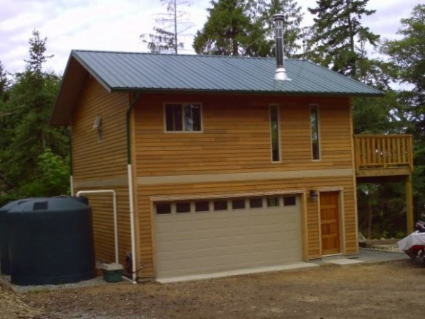 Tiny Home House Plans with Garage