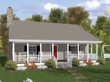 Country House Plans With Wrap Porches