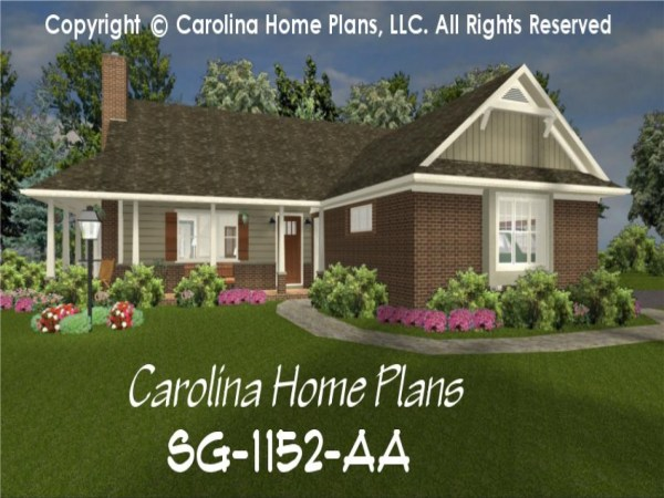 Brick Ranch Style House Plans 1950 Exterior