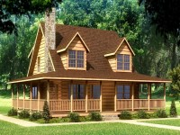 Small Log Cabin Homes Log Cabin Home House Plans, cabin