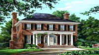 American Colonial House Plans Southern Colonial House ...