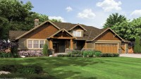 Single Story Craftsman Style House Plans Single Story ...