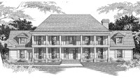 Southern Plantation Home Plans Historic Southern ...