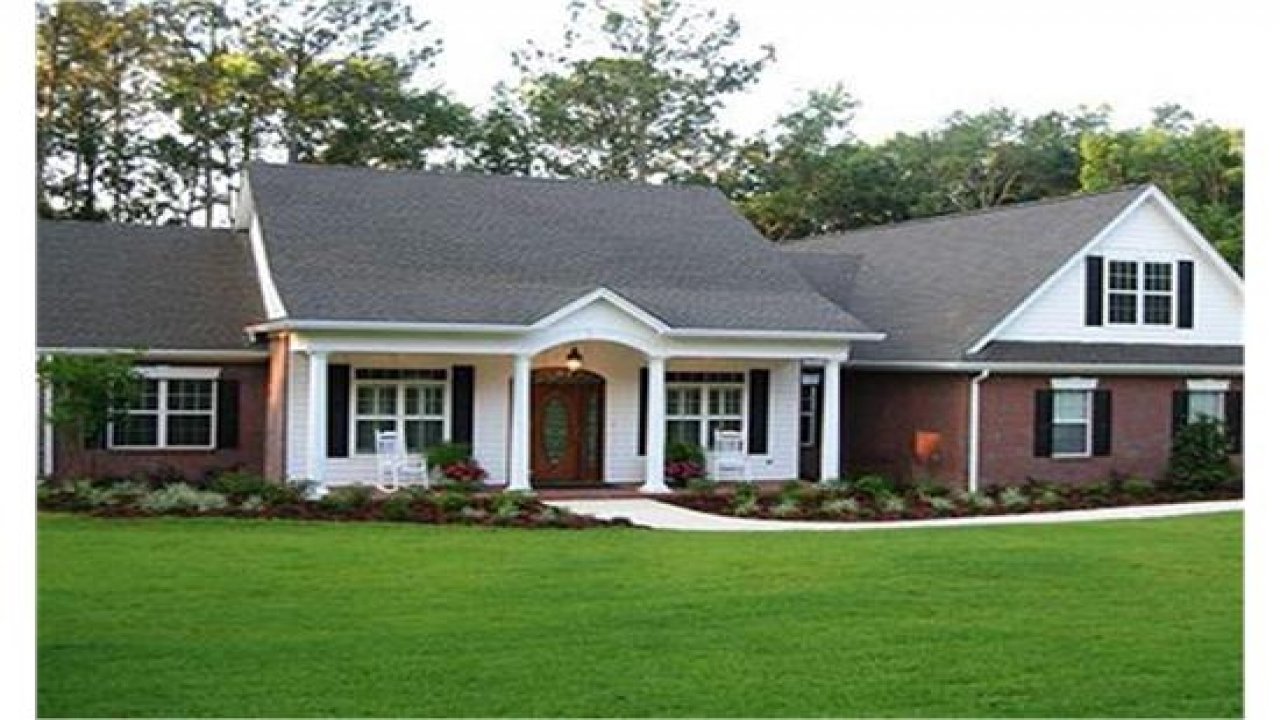 Ranch Style House Plans with Porches Unique Ranch House
