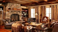 Cabin Style Decorating Living Room Small House Plans Cabin ...