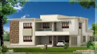 Flat Roof Modern House Designs Contemporary House Plans