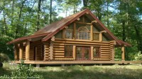 Log Cabin Home Plans and Prices Tiny Romantic Cottage ...