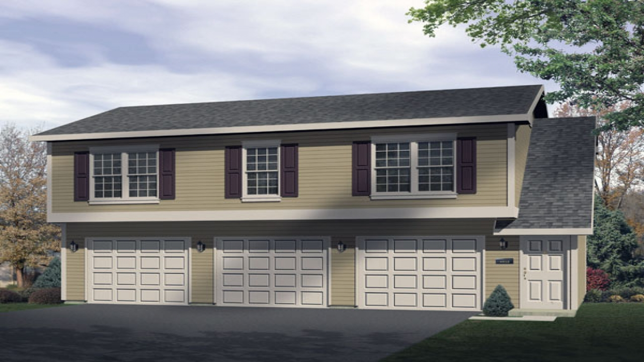 2 Car Garage with Apartment Plans 2 Car Garage with