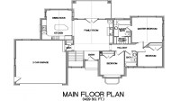 Lake House Open Floor Plans Lake House Floor Plans with a ...