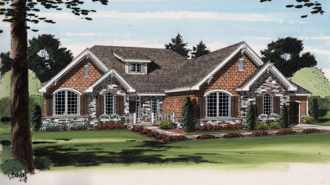 Cottage Style Ranch House Plans French Country Ranch House