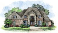 French Country Louisiana House Plans French Country House ...