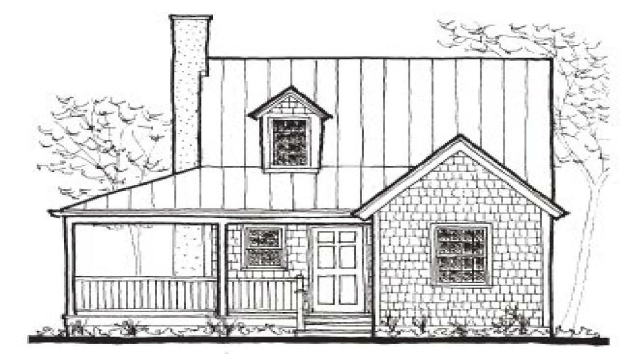Small Cottage House Kits Small Cottage Cabin Floor Plans