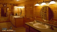 Extreme Log Home Master Bathrooms HGTV Extreme Log Homes ...