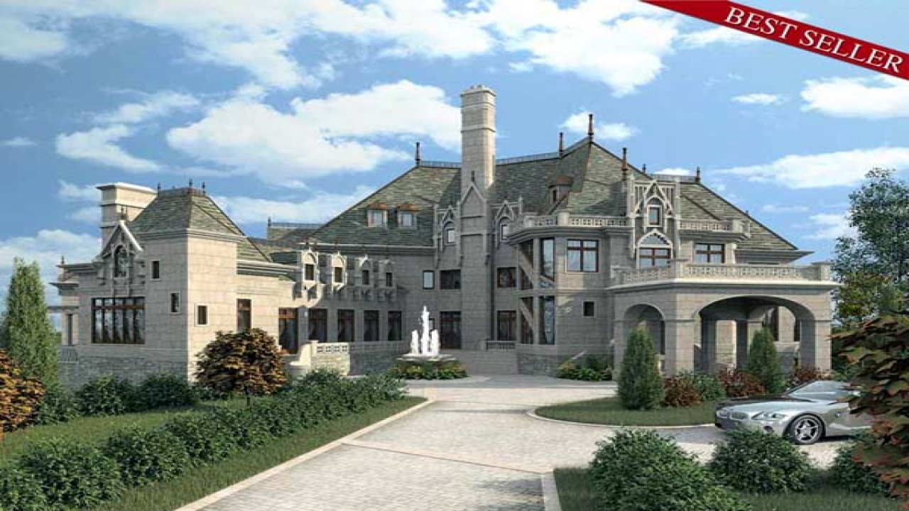 Luxury Castle Home Plans Dream Castle Homes chateau house