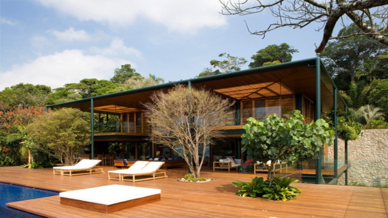 Tropical House Design Architecture Modern Tropical House