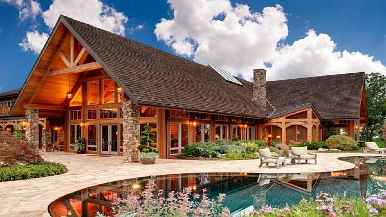 Luxury Mountain Home Design Rustic Mountain Home Plans