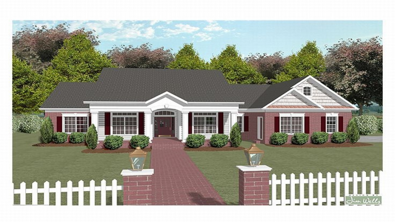 One Story House Plans Over Two Story House Plans : One