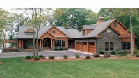 Home Style Craftsman House Plans Single Story Craftsman ...