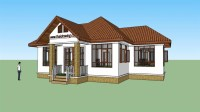 Thai Style Small House Beautiful Thai House Plans Free ...