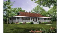 Best One Story House Plans One Story House Plans with Wrap ...