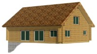 Lake Cabin House Plans Cabin House Plans with Walkout ...