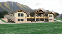 Luxury Lodge Style Home Plans Luxury Home Plans Lodge ...