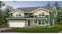 2 Story Craftsman House Plans Craftsman One Story House