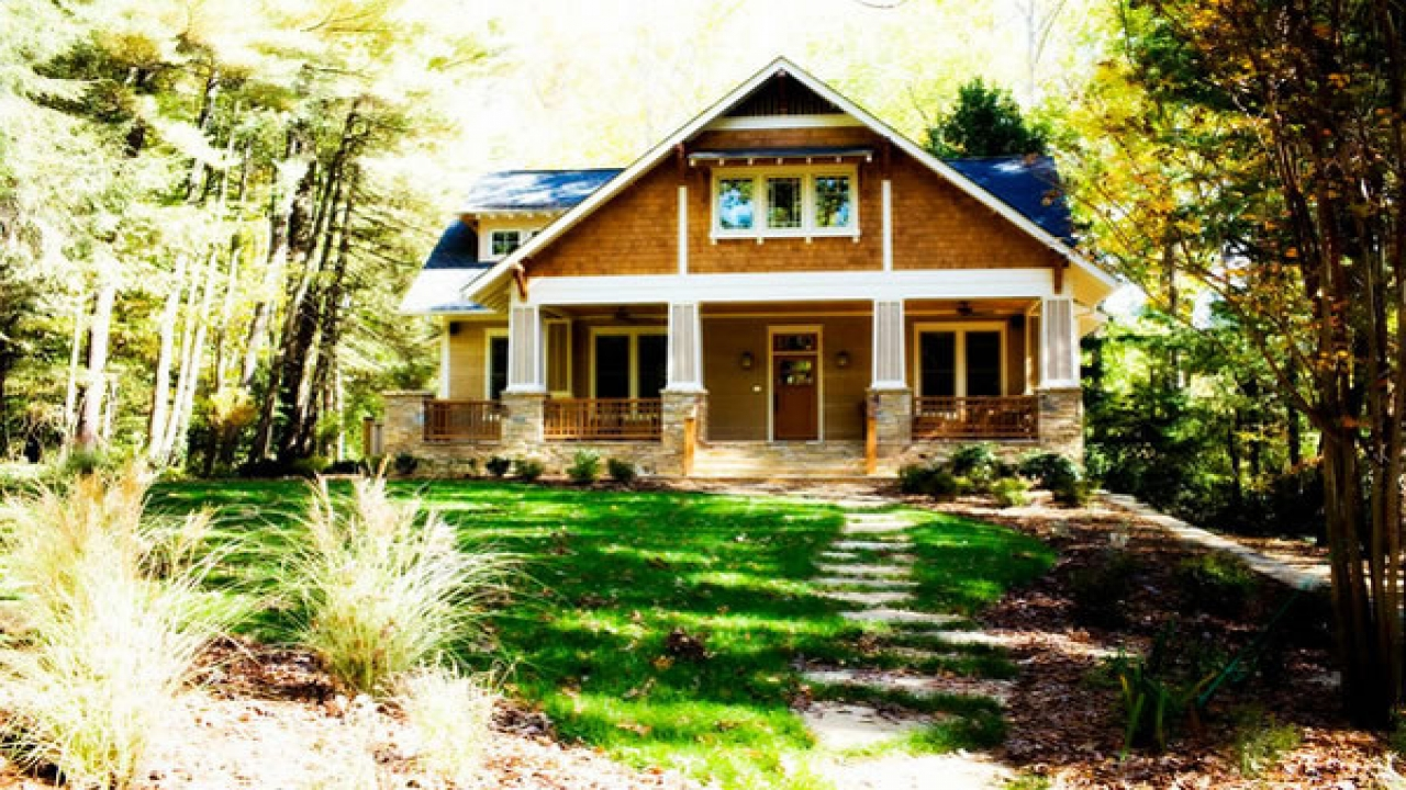 Cottage Craftsman Ranch House Style Craftsman Style