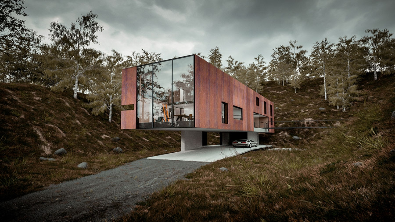 Minimalist House Elevated Houses Off The Ground Elevated