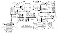 One Level Ranch Style Home Long Ranch Style House Plans ...