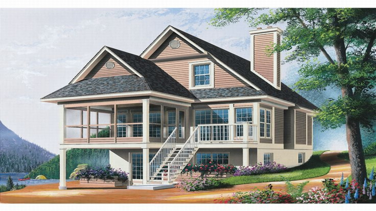 Waterfront Homes House Plans Lowcountry House Plans