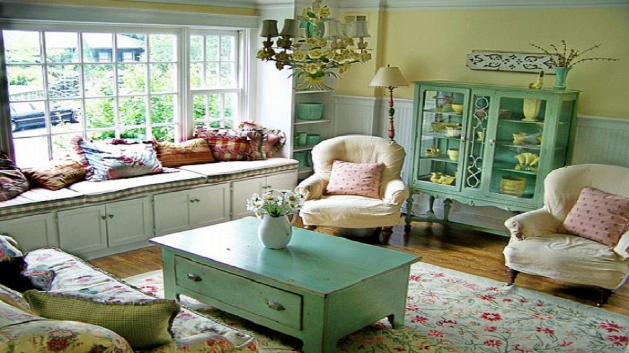 Country Cottage Living Room Decorating Ideas English