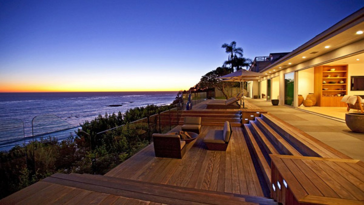 Malibu Beach Homes in California Jason Statham Homes in Malibu luxury beach home plans