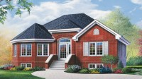 Brick Ranch House with Bay Window Ranch House Plans with ...