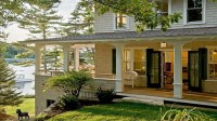 Lake House with Boat Dock Lake House with Wrap Around ...