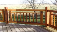Simple Deck Railing Designs Deck Railing Designs, cabin ...