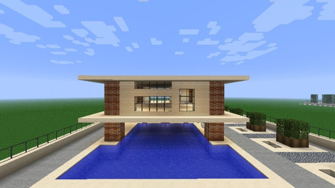 Easy Minecraft Modern House Easy Small Minecraft Houses ...