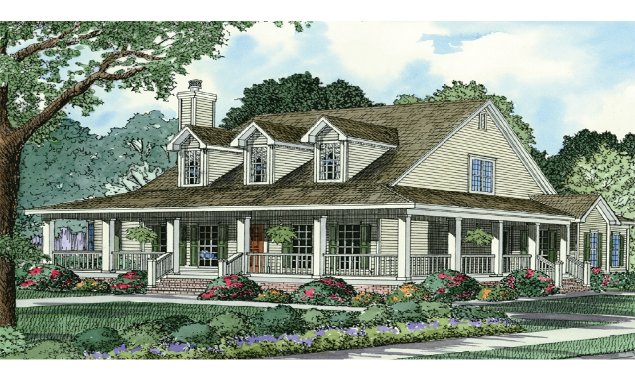 French Country House Plans Country Style House Plans with