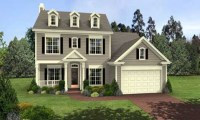 Colonial 3-Story House Plans 2 Story Colonial Style House ...