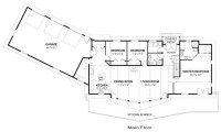 One Level Ranch Style Home Floor Plans Luxury One Level ...