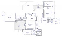 Modern 2 Story House Floor Plan Simple Two- Story House ...