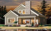 Cottage House Plan with Fireplaces Cottage Living House ...