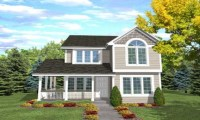 Narrow Lot House Plans with Front Garage Narrow Lot House ...