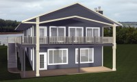 Cabin House Plans with Walkout Basement Country House ...