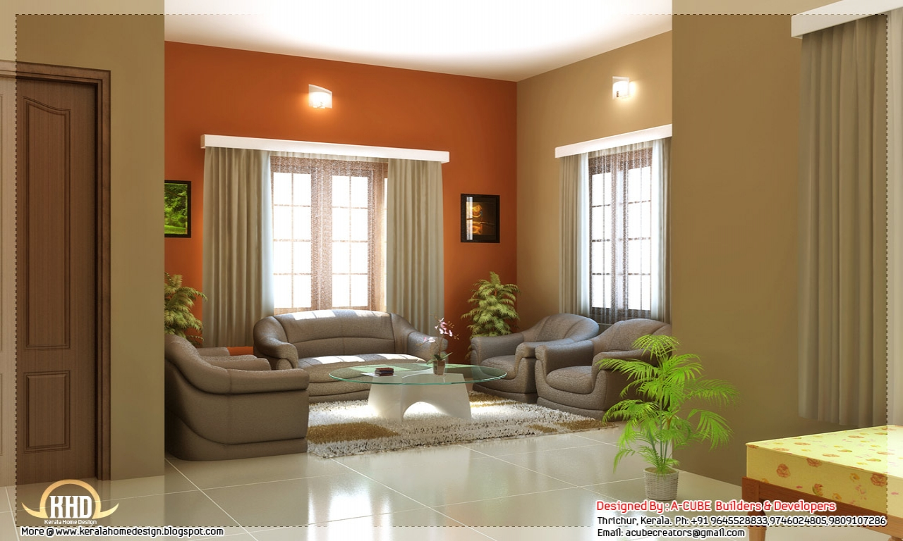 House Interior Design Color Schemes Family Room Interior
