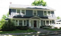 American Foursquare House Dutch Colonial Homes House Plans ...