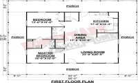 Floor Plans with Wrap around Porch Floor Plans with 2 ...