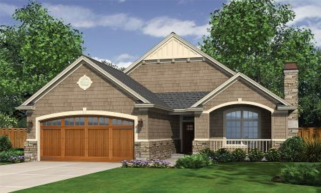 Narrow Lot Cottage House Plans One Story Narrow Lot House